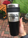 This Is My Soccer Game Travel Mug