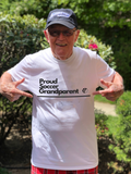 Proud Soccer Grandparent T-Shirt