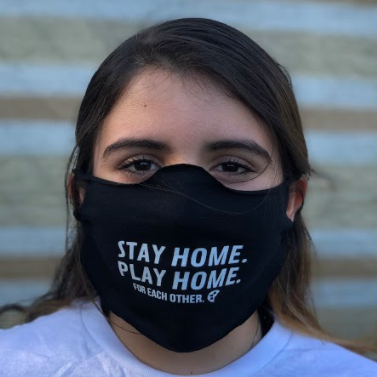 Stay Home, Play Home Daily Face Mask