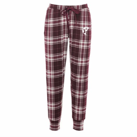 Light-Weight Plaid Pajama Joggers