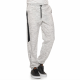 comfy white and black jogger sweatpants with soccergirlprobs  text