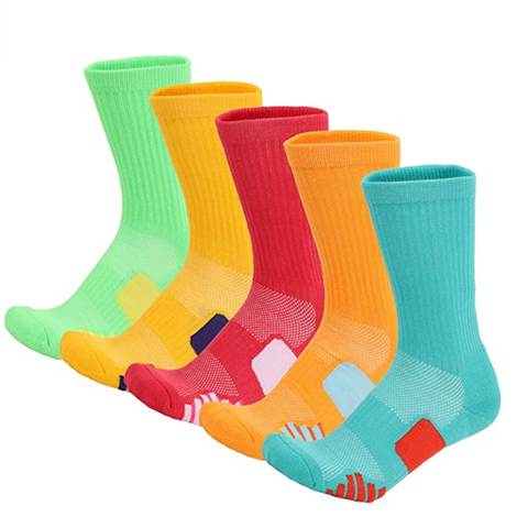 Compression Crew Socks 5 Pack