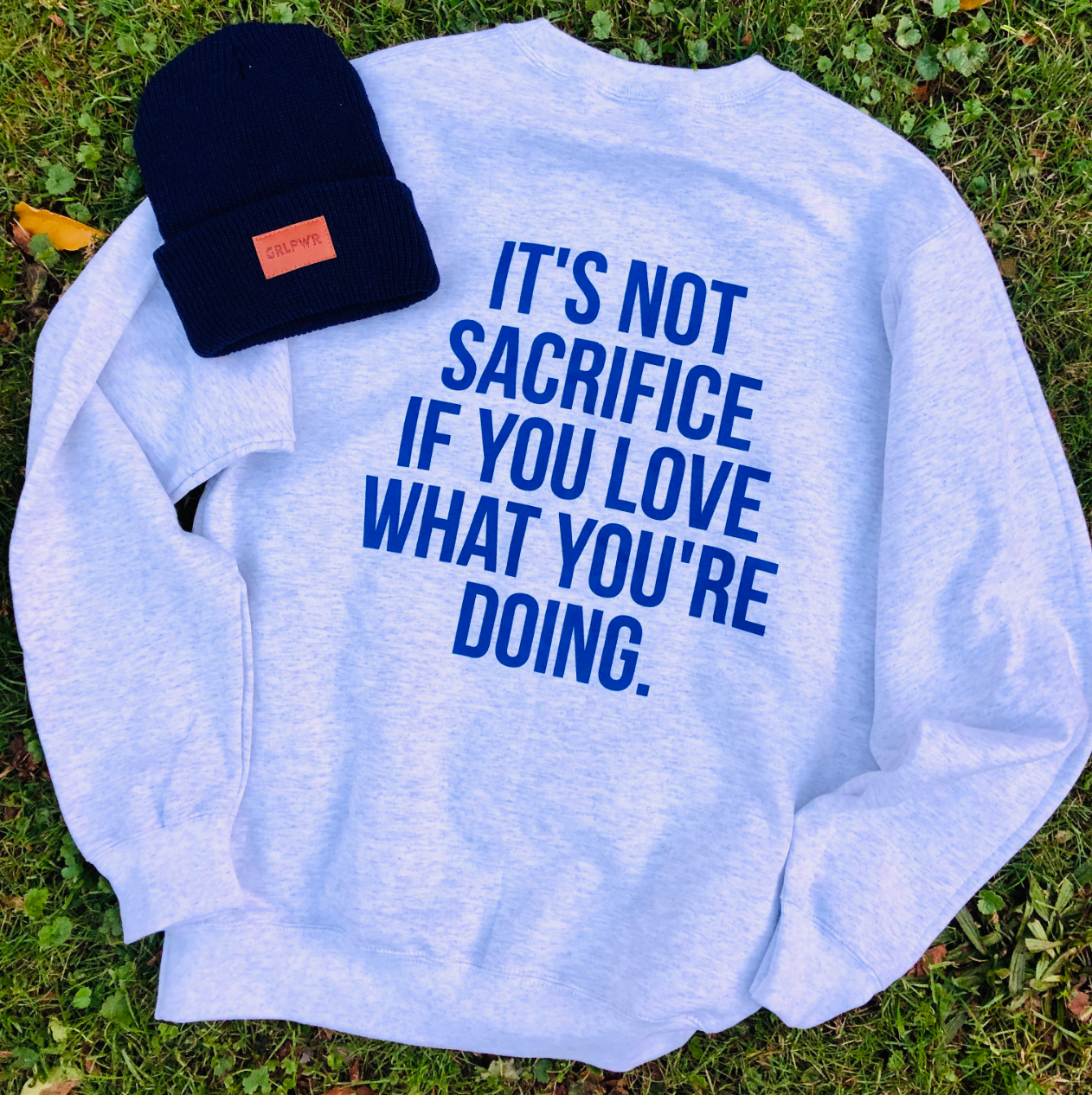 It's Not Sacrifice Fleece Crewneck Sweatshirt