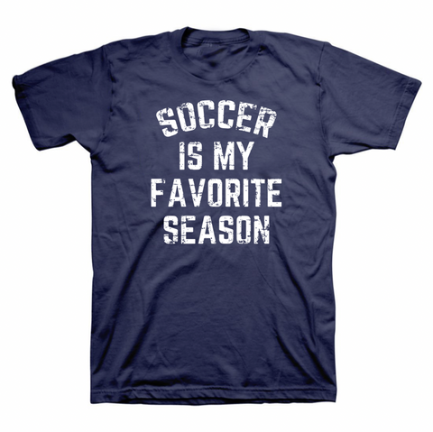 Soccer Is My Favorite Season T-Shirt