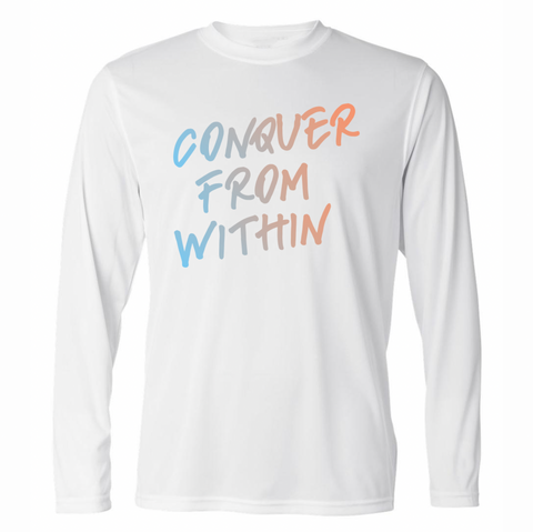 Conquer From Within Performance Long Sleeve