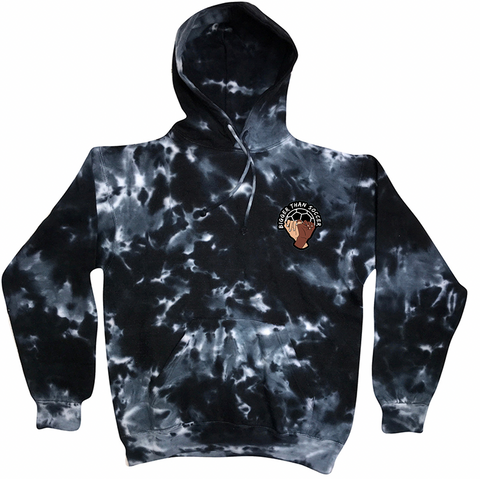 BIGGER THAN SOCCER Embroidered TieDye Sweatshirt
