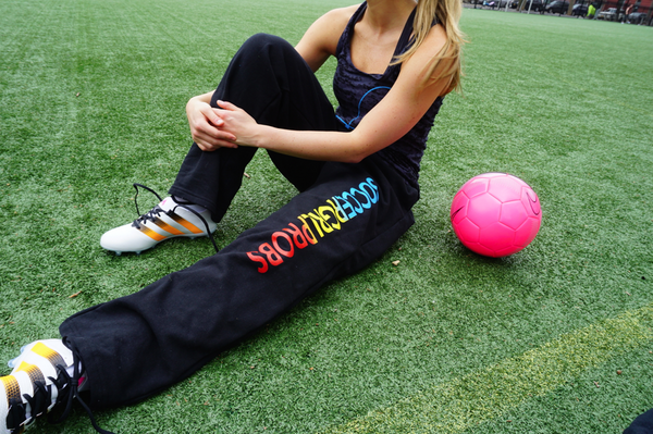 SoccerGrlProbs Sweatpants Tri-Colored - soccergrlprobs