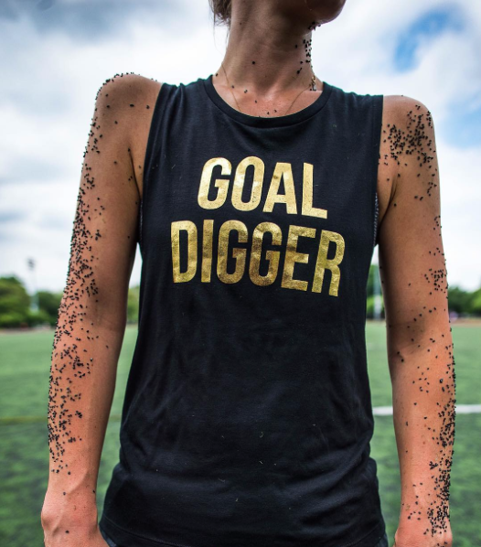 Goal Digger Muscle Tank - soccergrlprobs