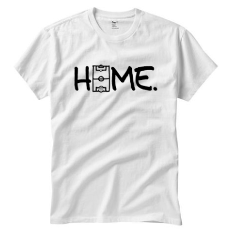 The Field is HOME White T-shirt