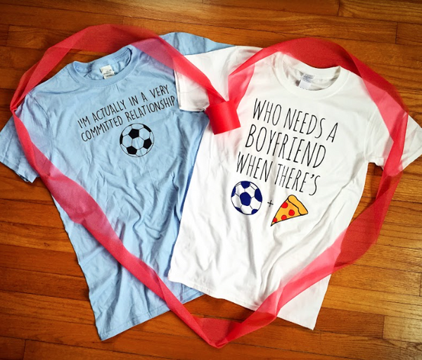 Committed Relationship With Soccer T-Shirt