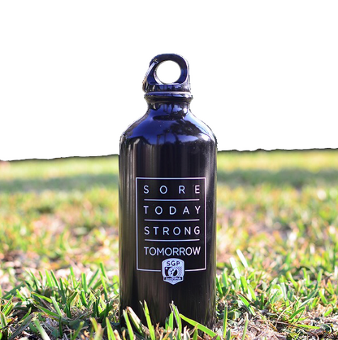 Sore Today Strong Tomorrow Reusable Water Bottle