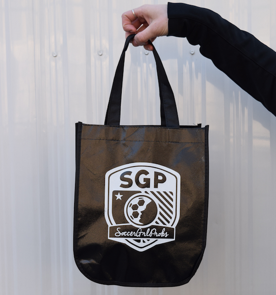 Reusable Mini Tote - soccergrlprobs