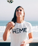 The Field is HOME White T-shirt - soccergrlprobs
