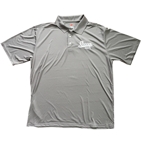 Soccer Dad Embroidered Performance Polo