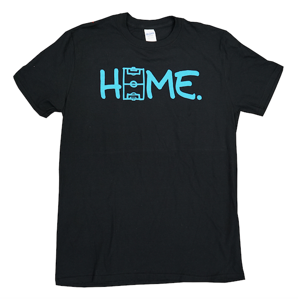 The Field is HOME Black T-shirt - soccergrlprobs