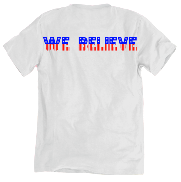 We Believe USA T-Shirt - soccergrlprobs
