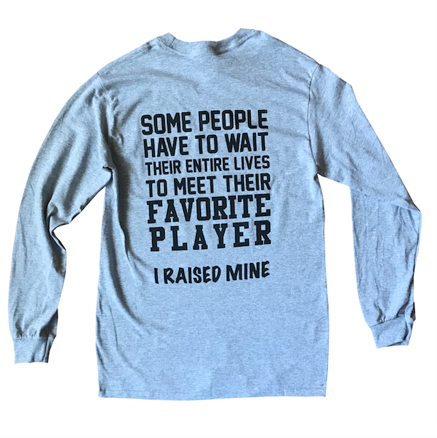 Proud Parent Long Sleeve Shirt - soccergrlprobs