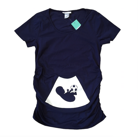 Soccer Mom Maternity T-shirt