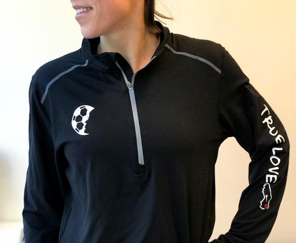 True Love Performance 1/4 Zip Pullover - soccergrlprobs