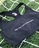 Don't Stop Until You're Proud Medium Impact Sports Bra - soccergrlprobs