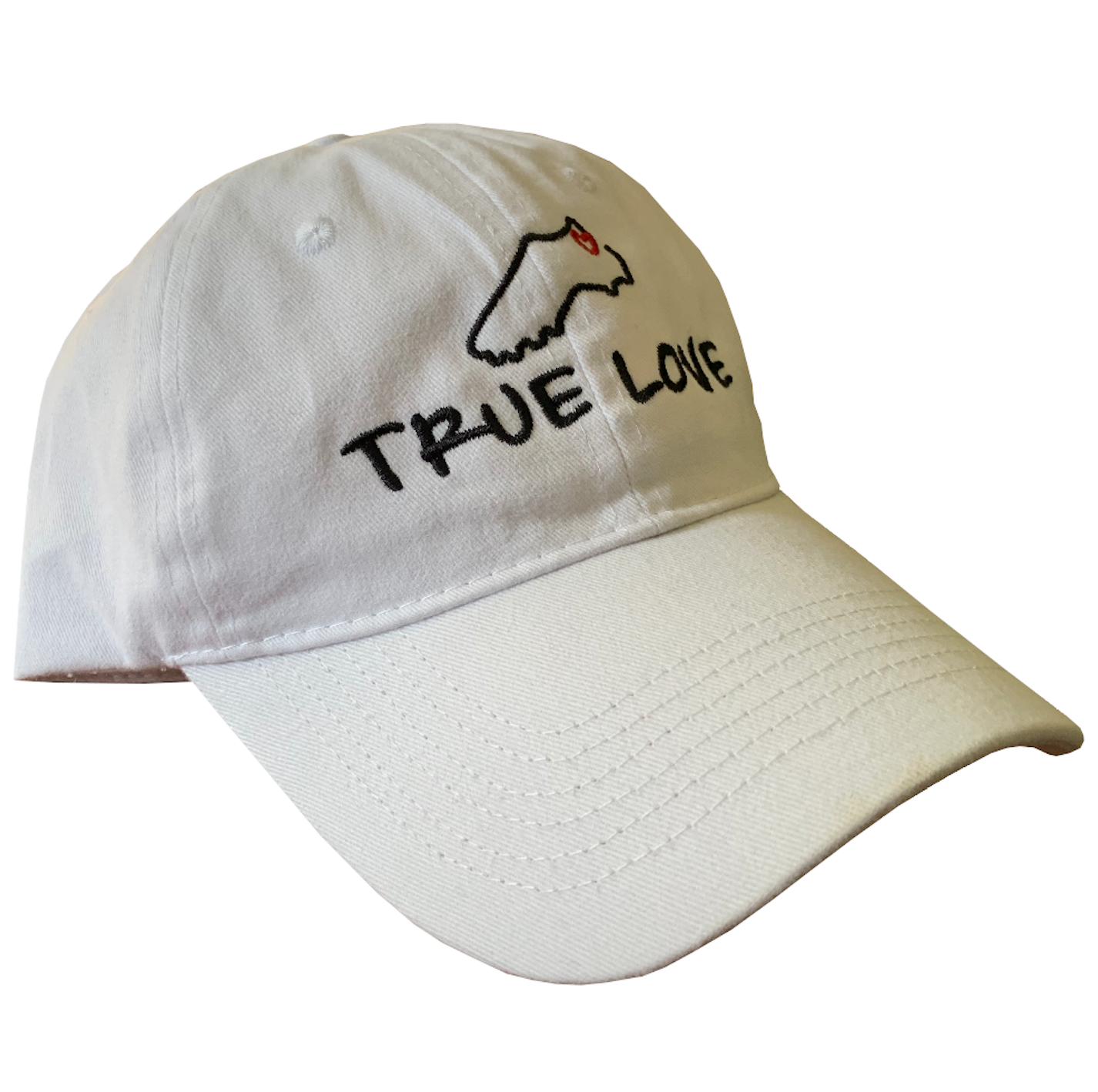 True Love Baseball Hat - soccergrlprobs