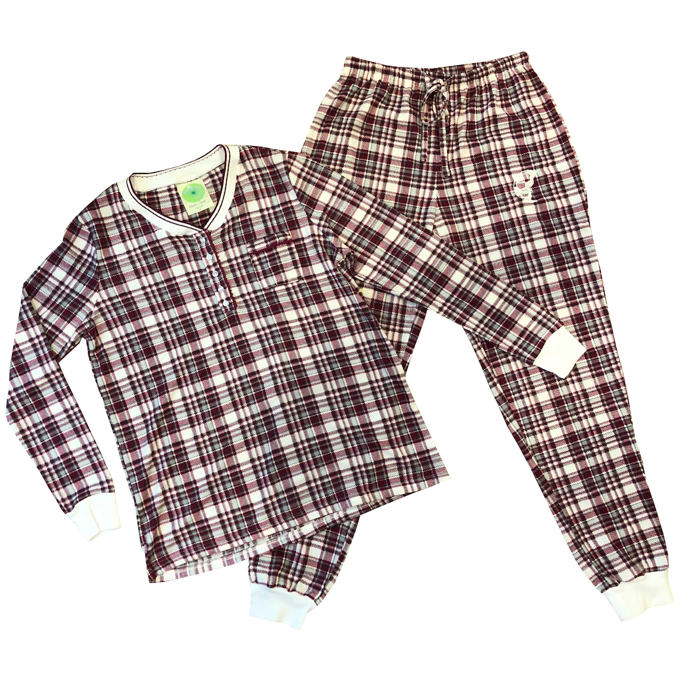 Red Flannel Pajama Set - soccergrlprobs