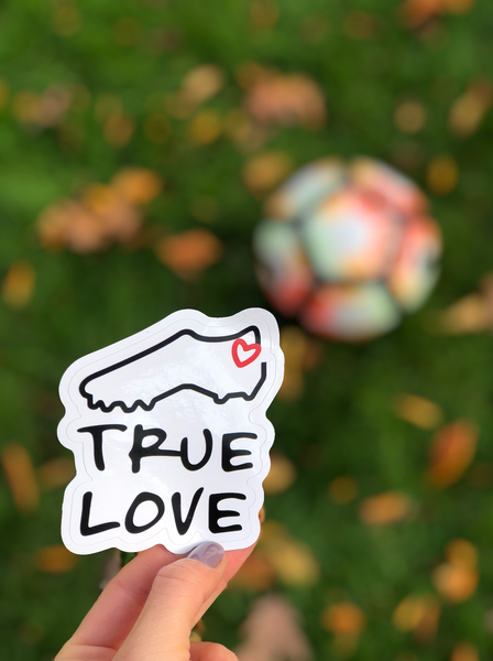 True Love Sticker - soccergrlprobs