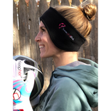 Embroidered Fleece Headband - soccergrlprobs