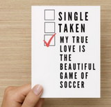 Valentine's Day Card - soccergrlprobs