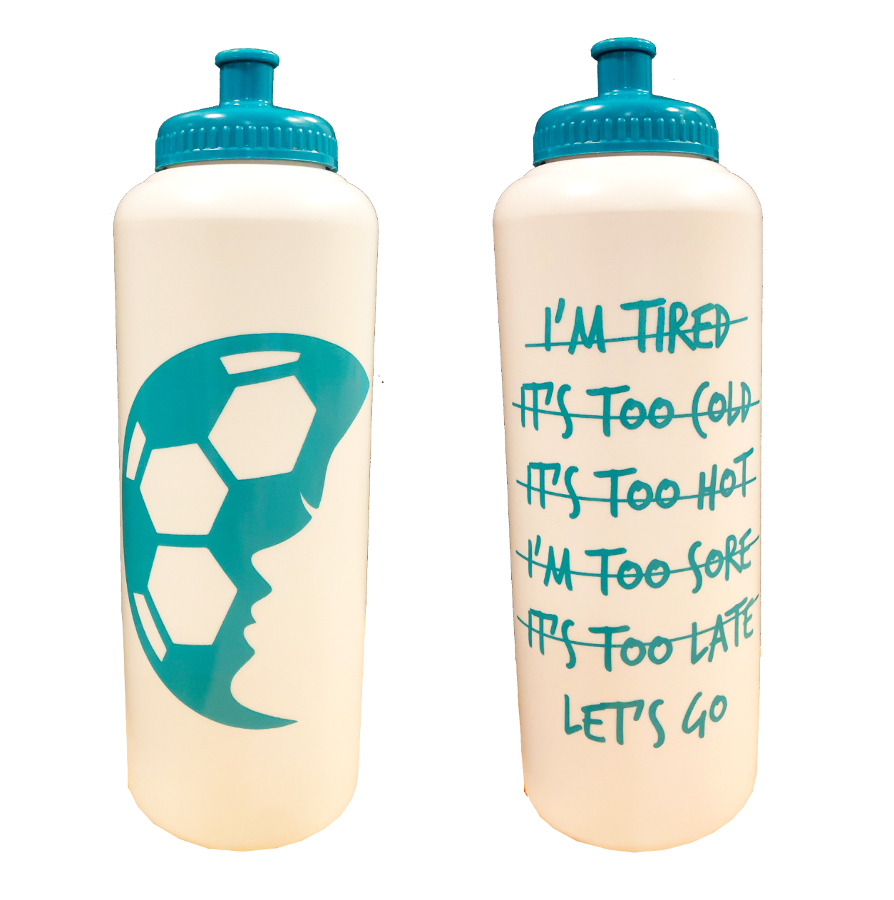 Lets Go 32 oz Water Bottle - soccergrlprobs