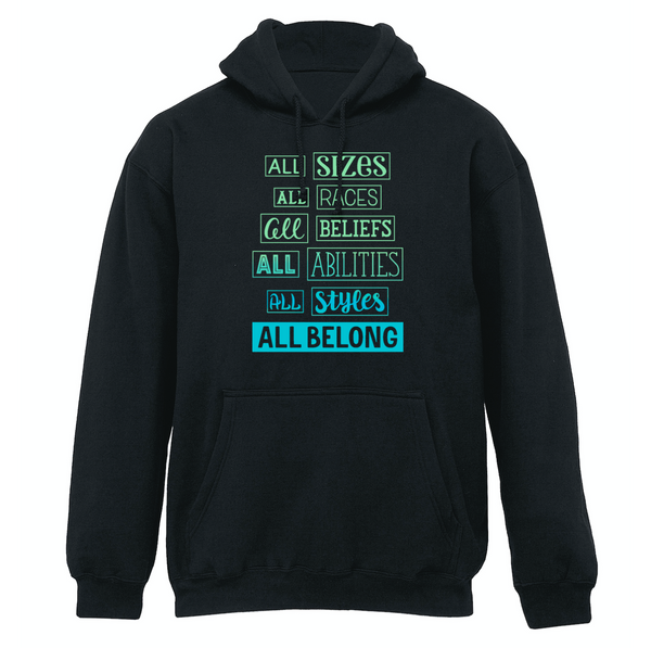 ALL BELONG Hoodie - soccergrlprobs