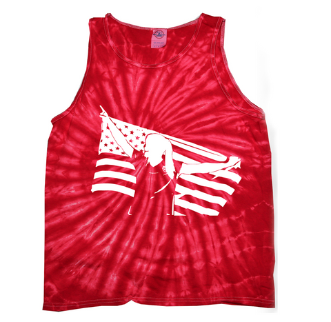 United We Score Tie Dye Tank