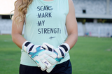 Scars Mark My Strength Muscle Tank - soccergrlprobs