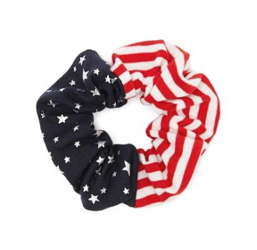 USA Flag Scrunchies