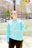 Scars Mark My Strength Lifestyle Crewneck - soccergrlprobs