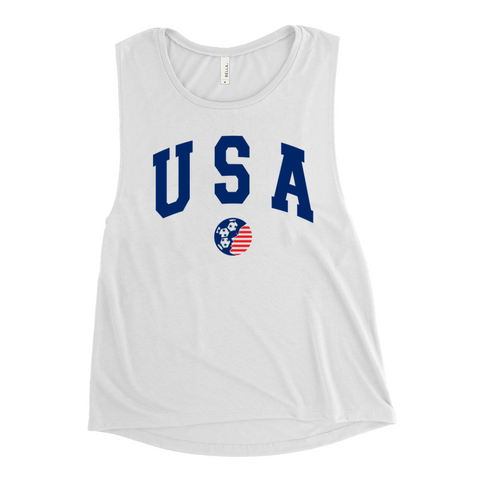 World Cup USA Muscle Tank
