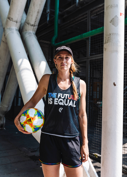 THE FUTURE IS EQUAL Pinnie - soccergrlprobs