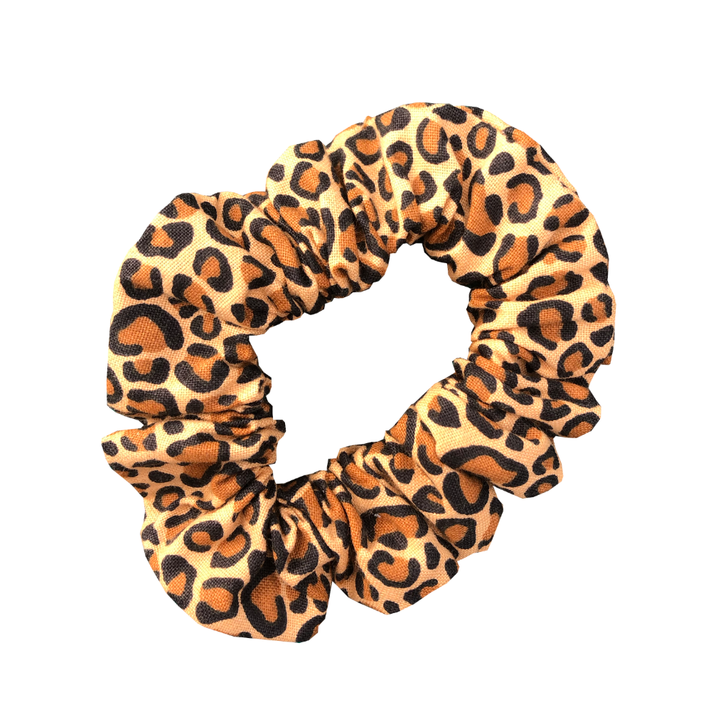 Cheetah Print Scrunchie - soccergrlprobs