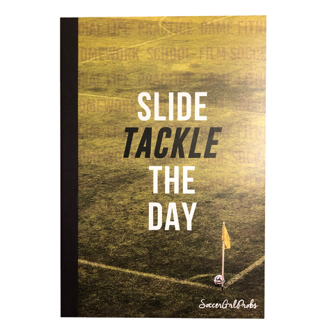 Slide Tackle The Day Agenda Notebook