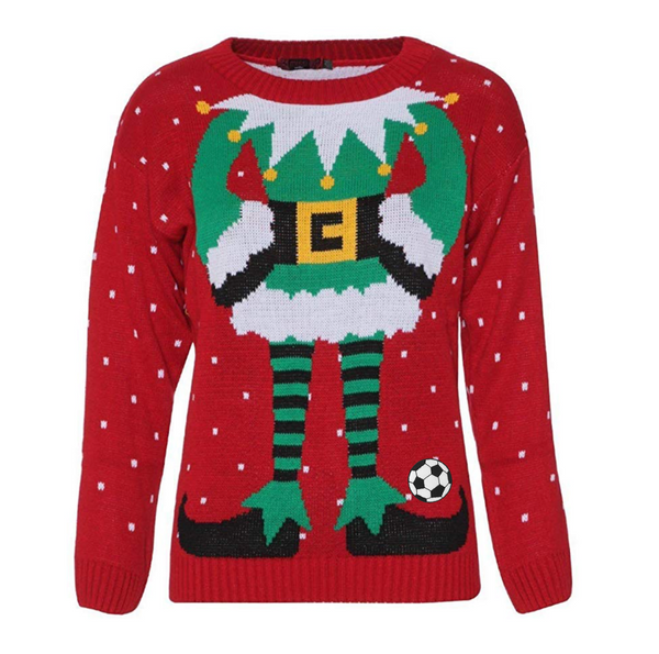 Ugly Christmas Soccer Sweater - soccergrlprobs