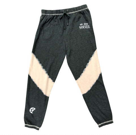 EAT SLEEP SOCCER Tie-Dye Lounge Pants