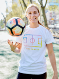 Born To Play T-Shirt - soccergrlprobs