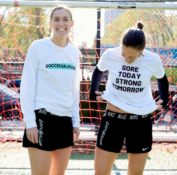 Sore Today Strong Tomorrow T-Shirt - soccergrlprobs