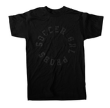 Black On Black SoccerGrlProbs T-Shirt - soccergrlprobs