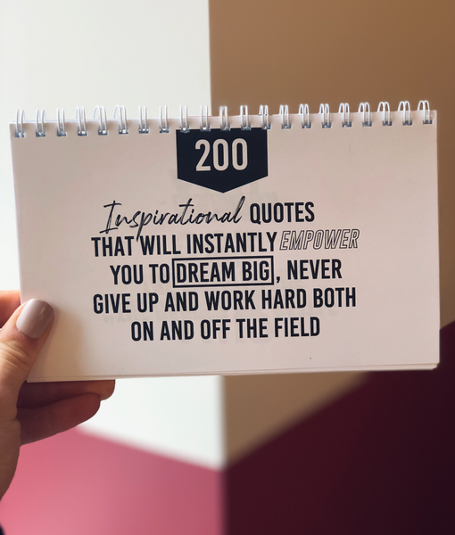Instant Inspo Positive Quote Flipbook - soccergrlprobs