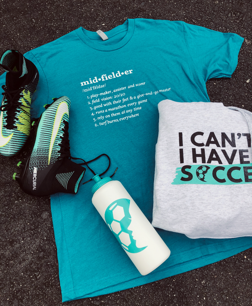 Midfielder Definition T-Shirt - soccergrlprobs