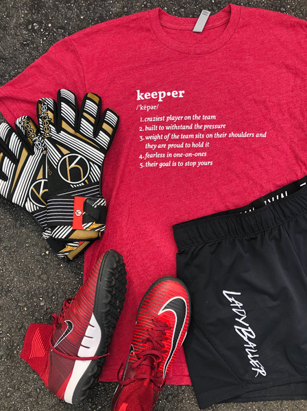 Keeper Definition T-Shirt - soccergrlprobs