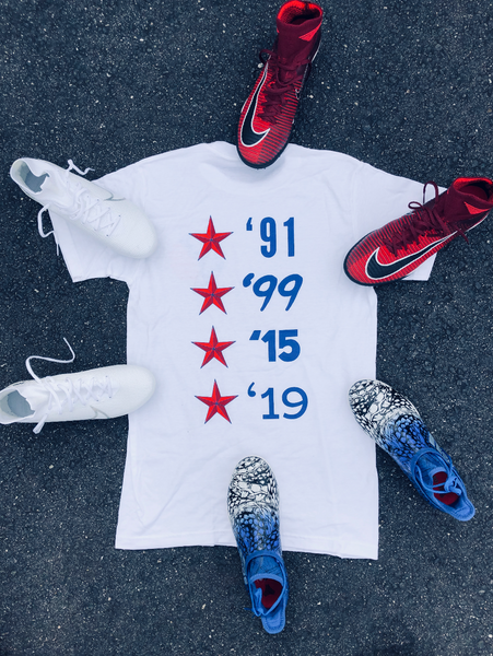 FOUR STARS T-Shirt - soccergrlprobs