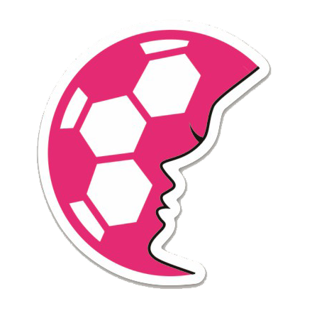 SoccerGrlProbs Small Logo Sticker