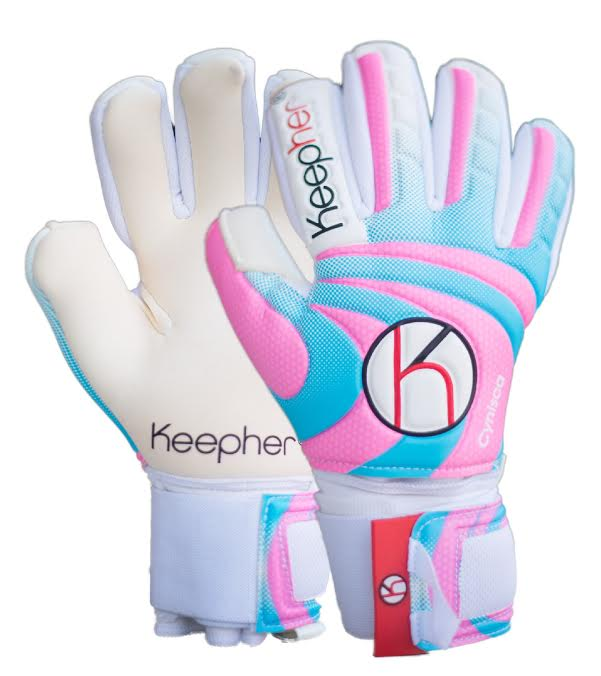 KEEPHER Cynisca Goalie Gloves - soccergrlprobs